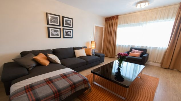 Welcoming living area in Aspect Hotel and Apartments Park West