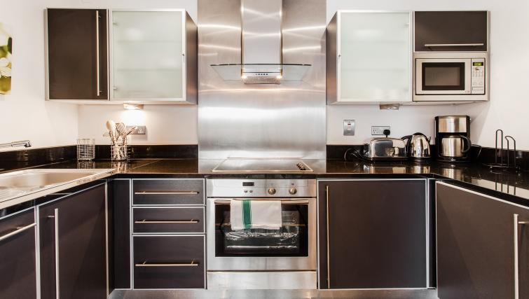 Kitchen at Grand Canal Square Apartment