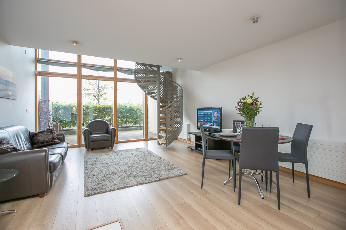 Open-plan at North Spencer Dock Apartments, Centre, Dublin