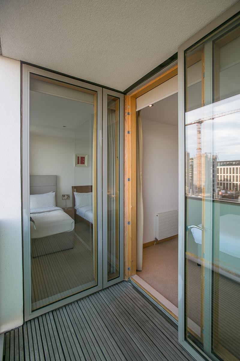 Balcony at North Spencer Dock Apartments, Centre, Dublin