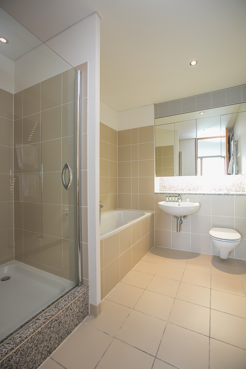 Shower at North Spencer Dock Apartments, Centre, Dublin