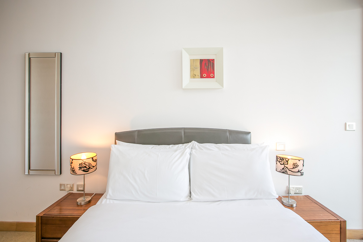 Bed at North Spencer Dock Apartments, Centre, Dublin