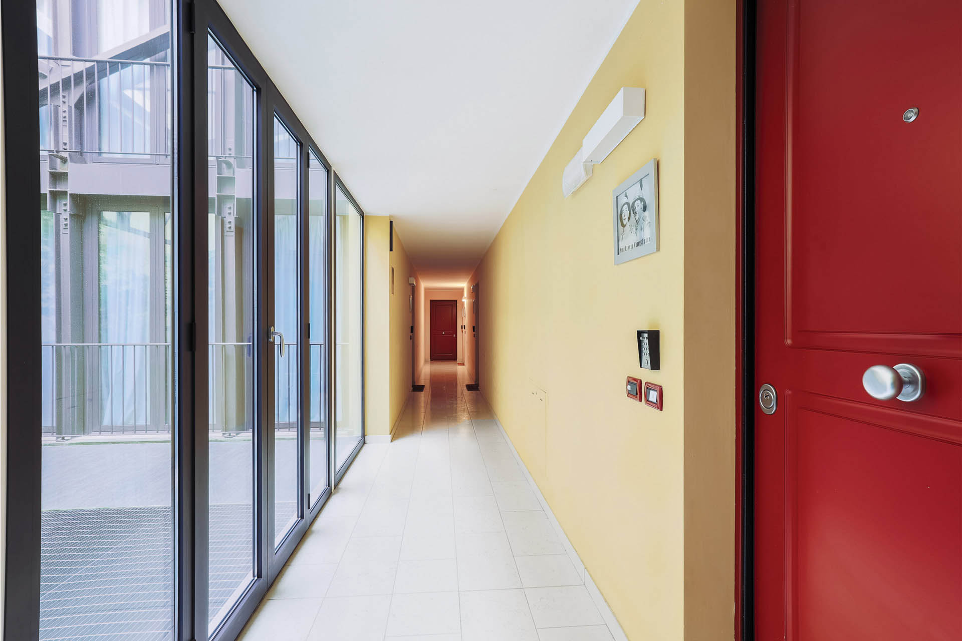 Corridor at Residence Adriano