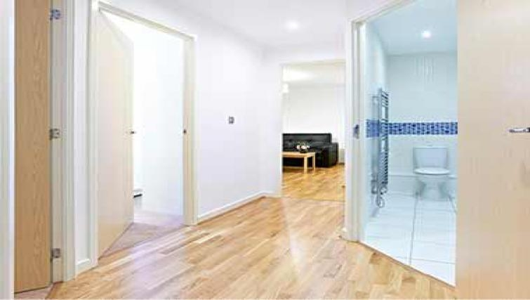 Welcoming hall in Borehamwood Apartments