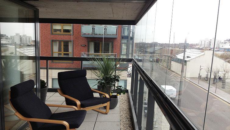 Balcony in Hanover Dock Apartment