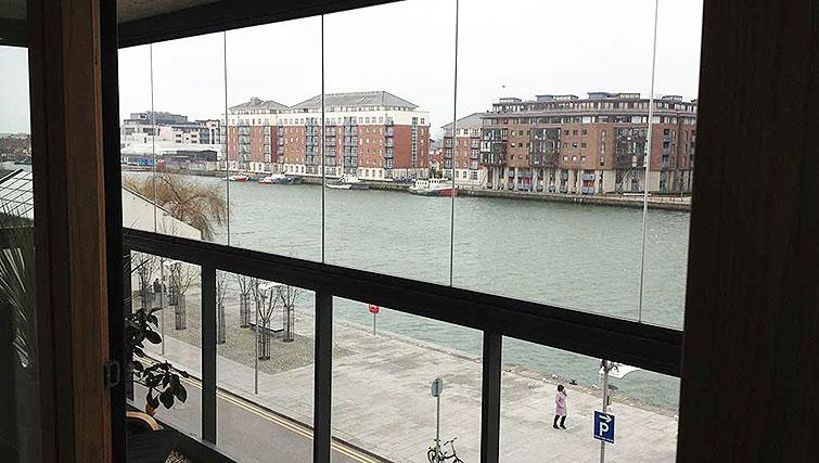 View from Hanover Dock Apartment