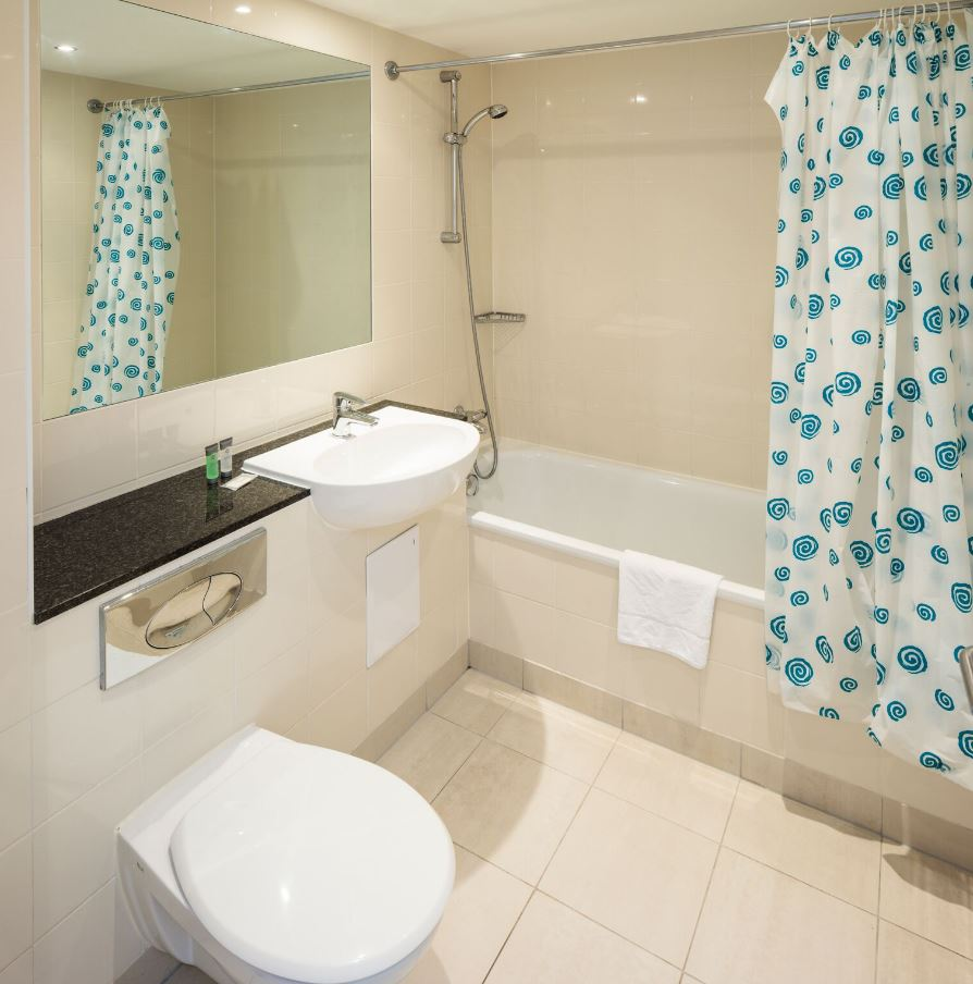 Bathroom at Fitzwilliam Point Apartments