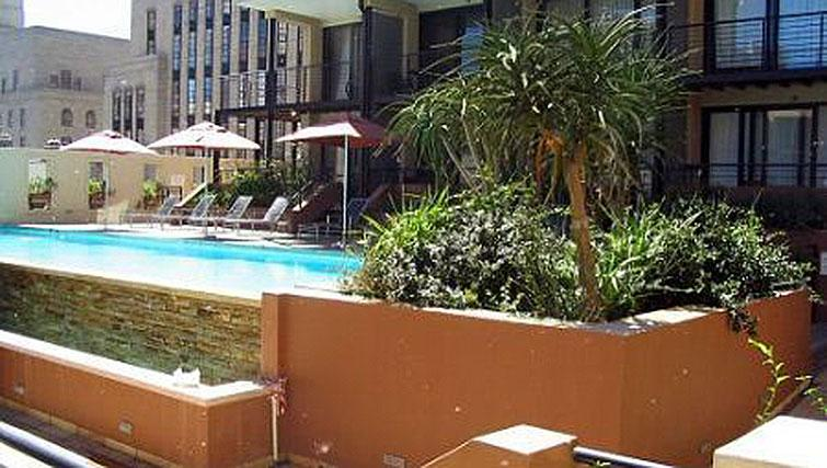 Gorgeous pool in Mutual Heights Apartments