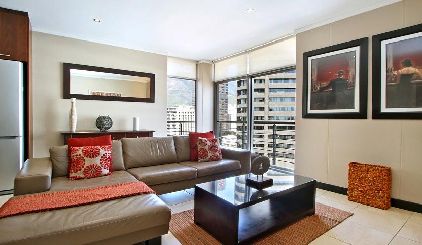 Sofa in Icon Apartments