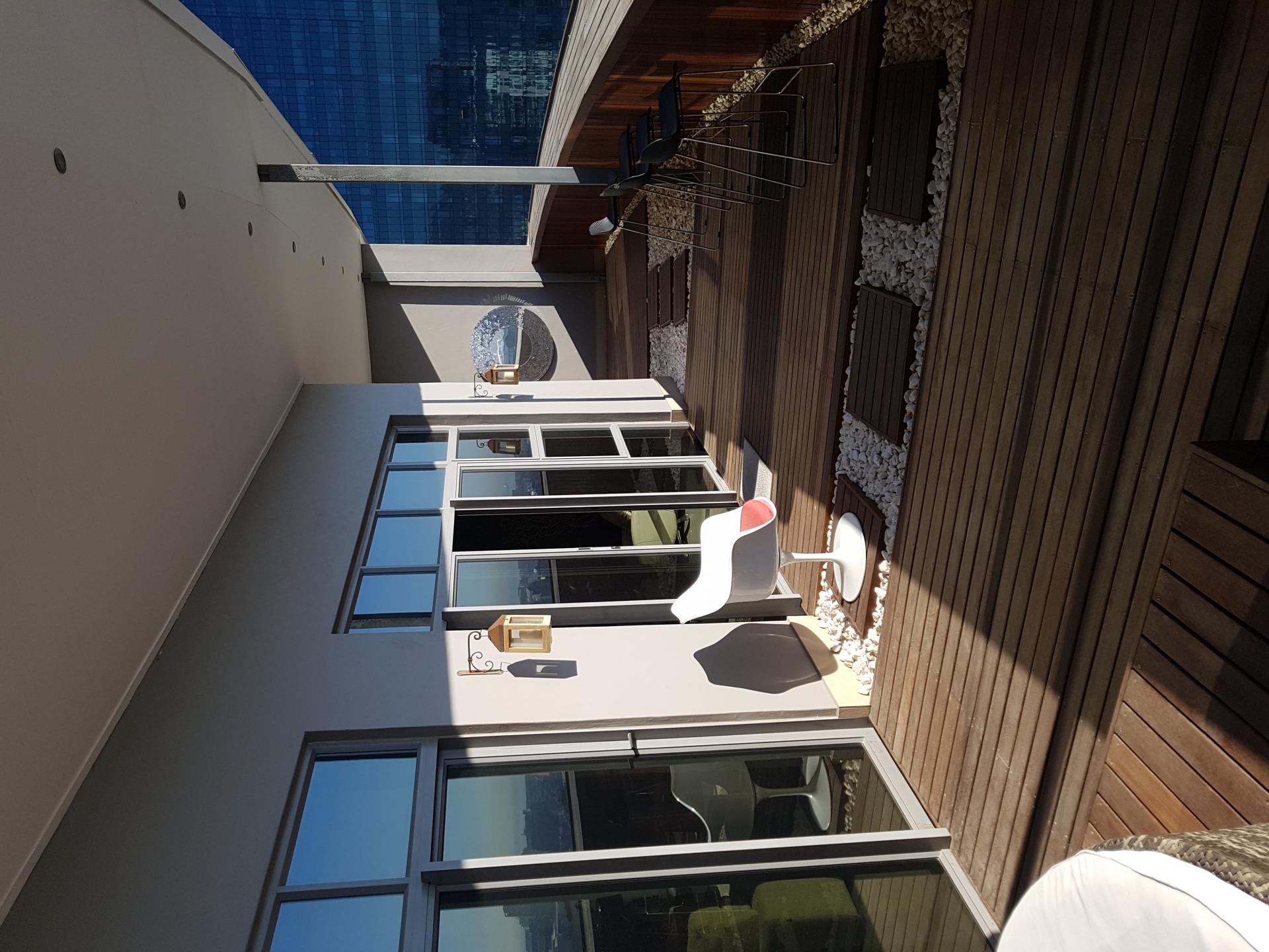 Balcony in Icon Apartments