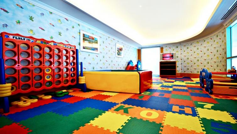 Colourful kids club in Marriot Executive Apartments Mayfair - Bangkok