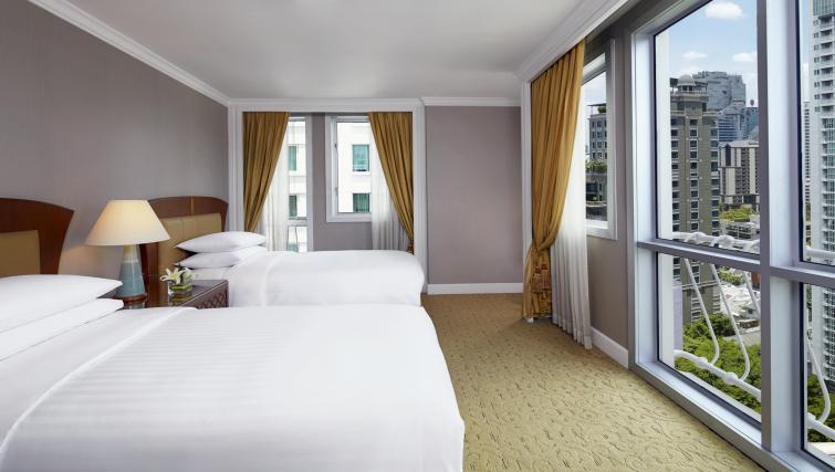 Bedroom at Marriot Executive Apartments Mayfair - Bangkok