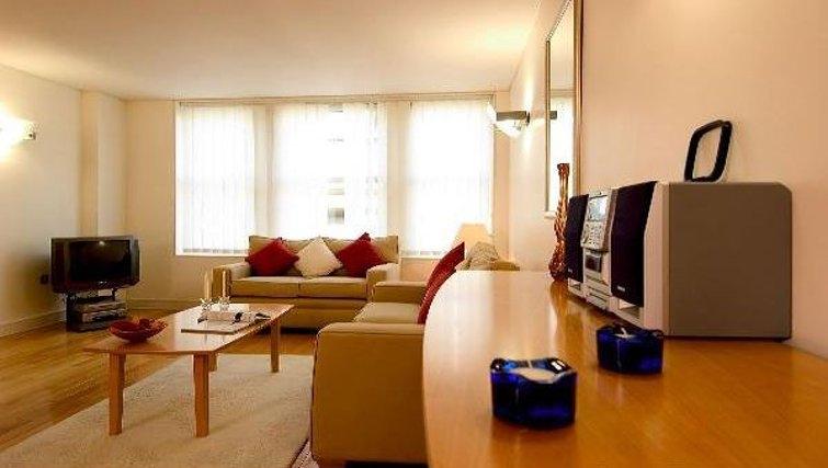 Open living area at Oakwood Bow Lane