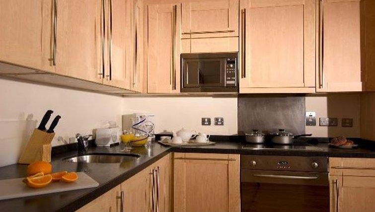 Modern kitchen at Oakwood Bow Lane