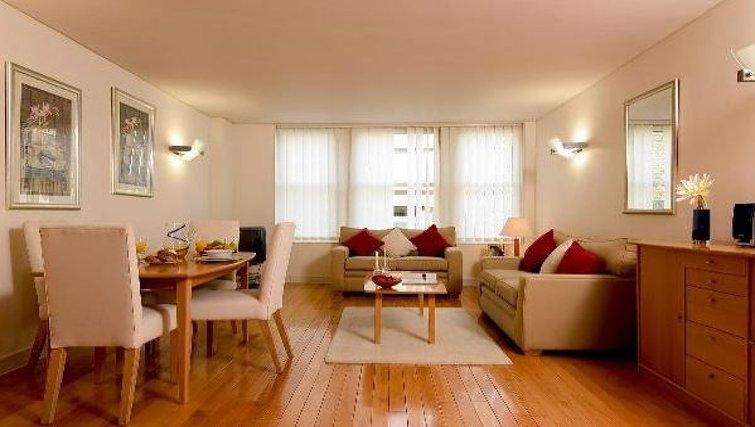 Comfortable living area at Oakwood Bow Lane
