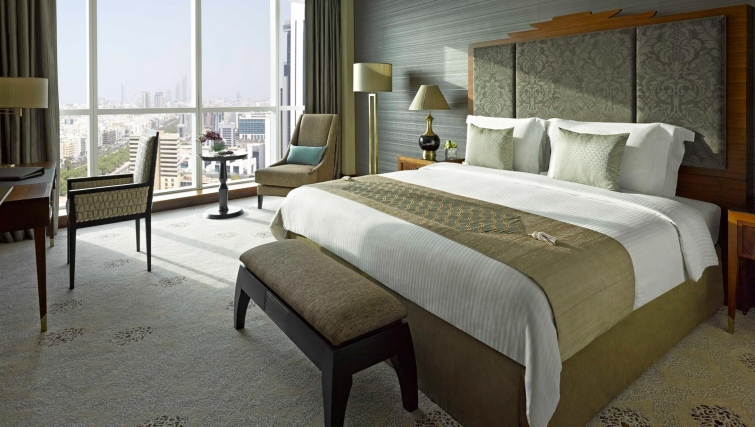 Incredible bedroom at Dusit Thani Abu Dhabi Apartments