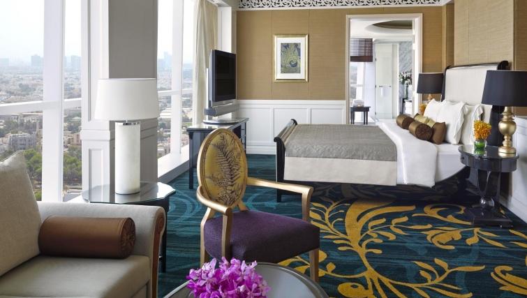 Expansive living area at Dusit Thani Abu Dhabi Apartments