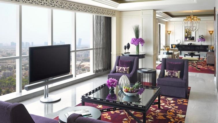 Marvellous living area at Dusit Thani Abu Dhabi Apartments