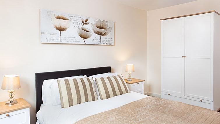 Bedroom in Swindon Paramount Apartments