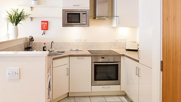 Kitchen at Swindon Paramount Apartments
