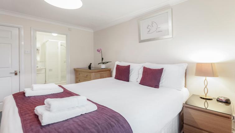 Bedroom at Sabin Gates Apartment