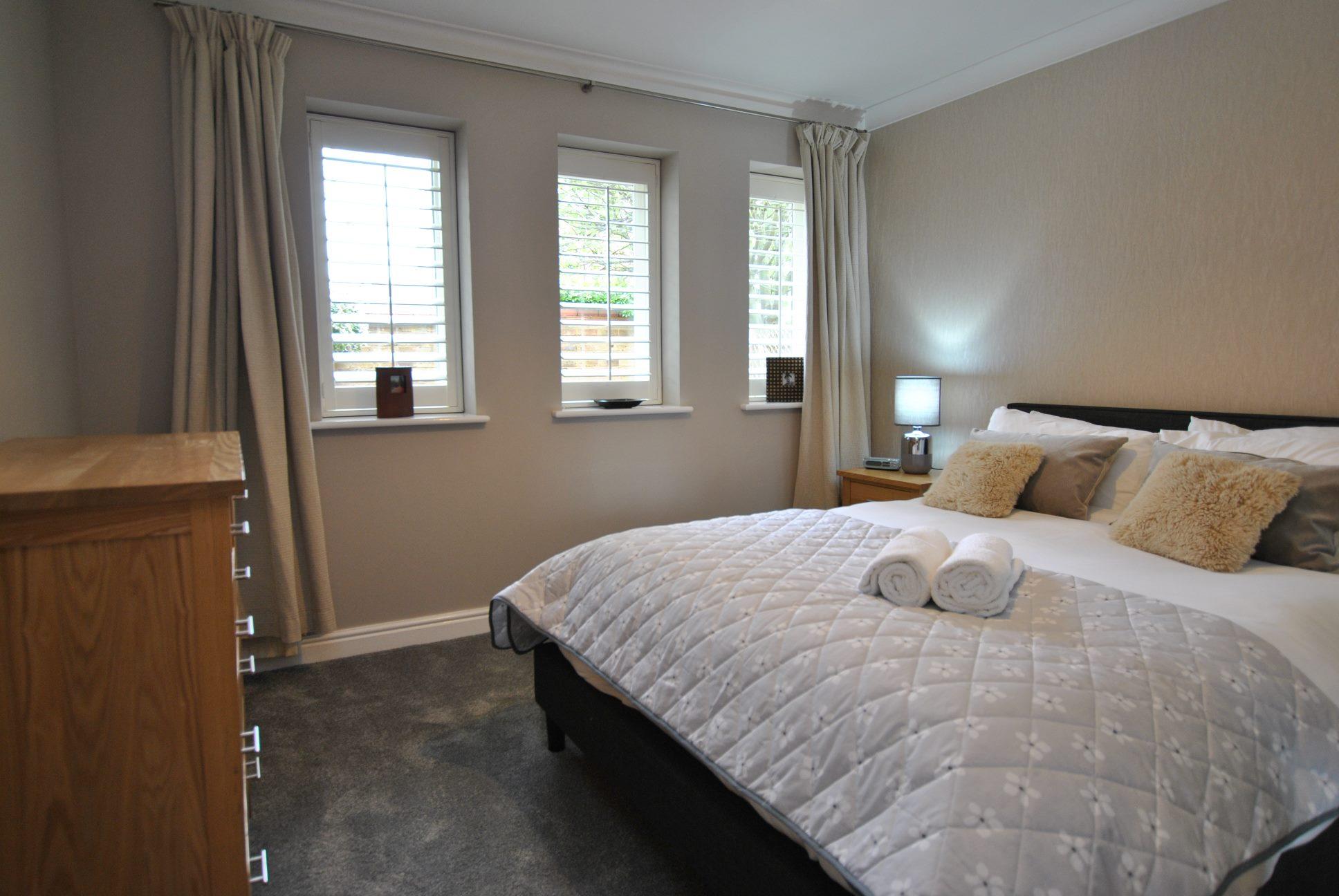 Bedroom at Elizabeth Court Apartments