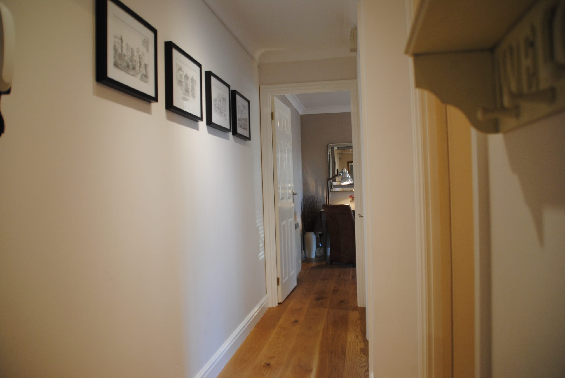 Hallway at Elizabeth Court Apartments