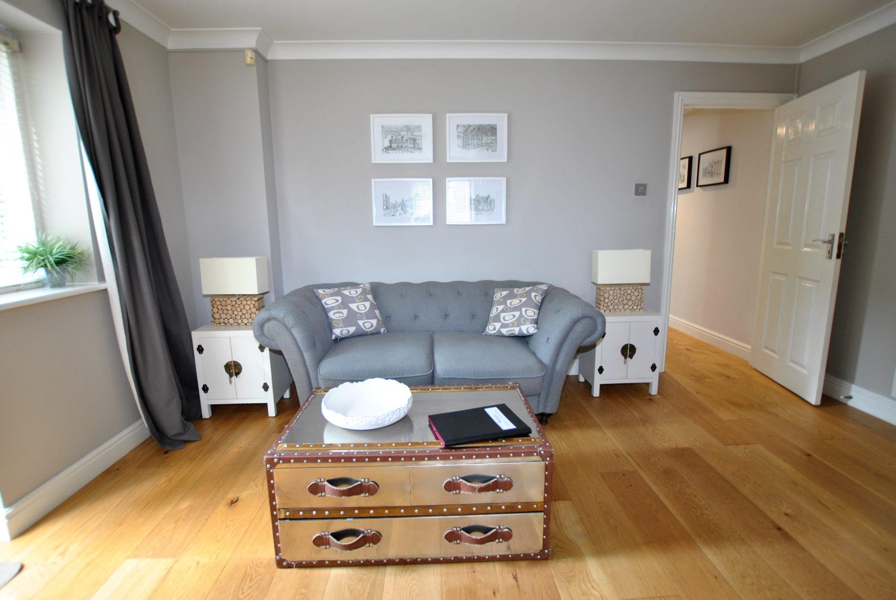 Sofa at Elizabeth Court Apartments