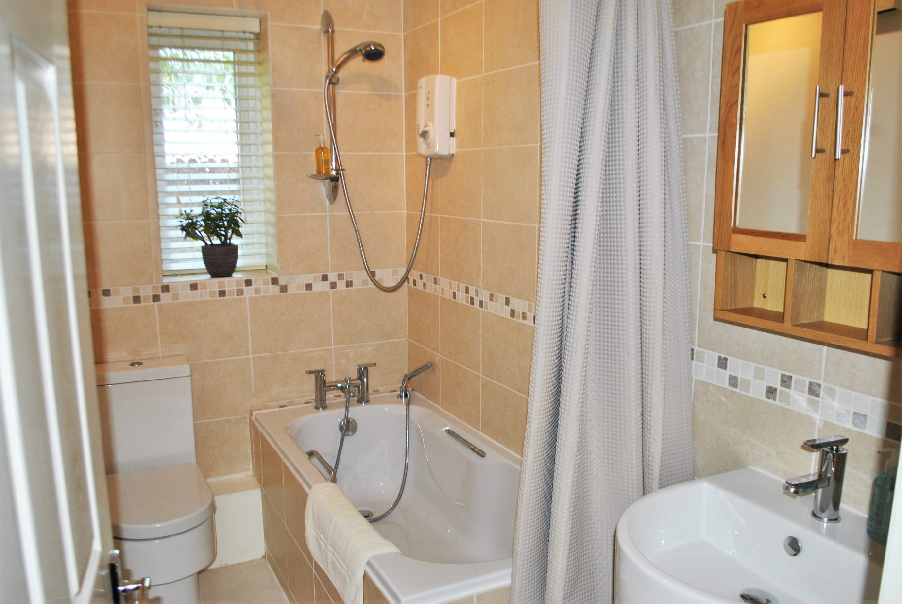 Bathroom at Elizabeth Court Apartments