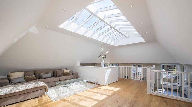 Living room at 3 Harrington Gardens