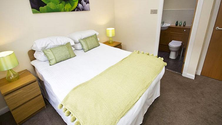 Bedroom at Beach Apartments