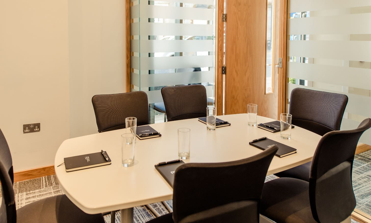 Conference room at Premier Suites Manchester