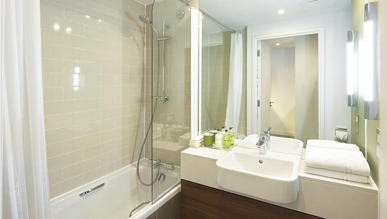 Bathroom at the Citadines Holborn & Covent Garden London