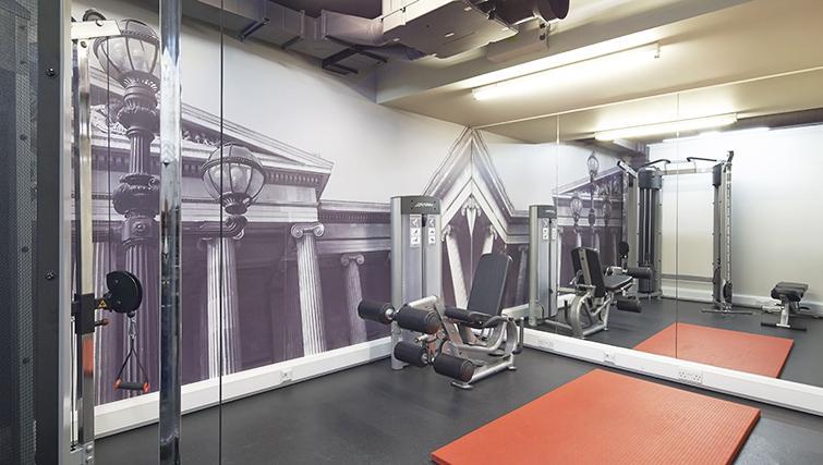 Practical gym at the Citadines Holborn & Covent Garden London