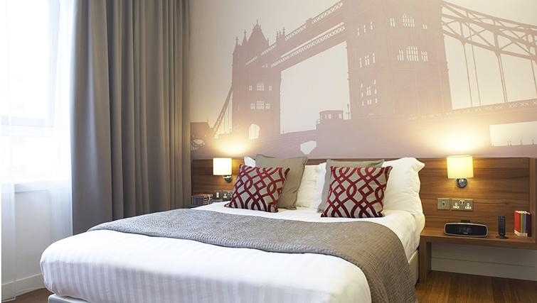 Bedroom at the Citadines Holborn & Covent Garden London