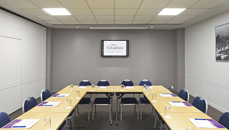 Meeting room at the Citadines Holborn & Covent Garden London