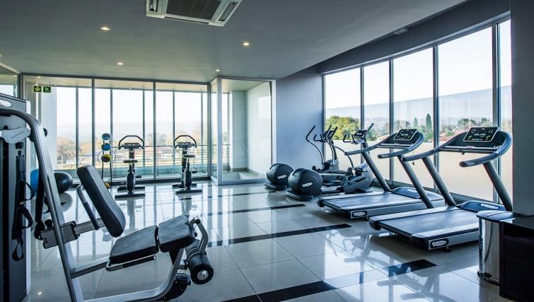 Gym at Genesis Suites