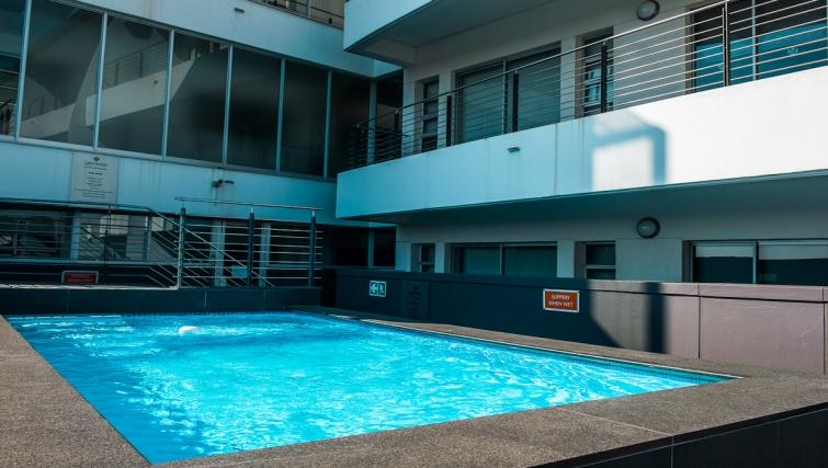 Pool at Genesis Suites