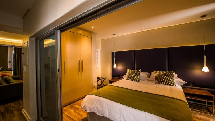 Bedroom at Genesis Suites