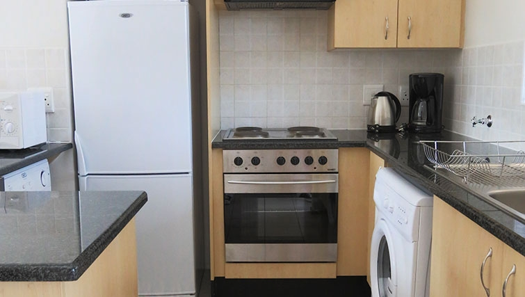 Kitchen at Times Square Executive Suites