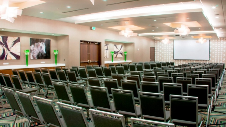 Conference room at Homewood Suites Denver Downtown Convention Center