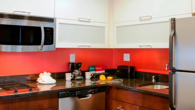 Kitchen at Homewood Suites Denver Downtown Convention Center