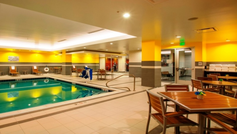 Swimming pool at Homewood Suites Denver Downtown Convention Center