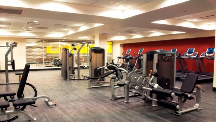 Fitness centre at Homewood Suites Denver Downtown Convention Center