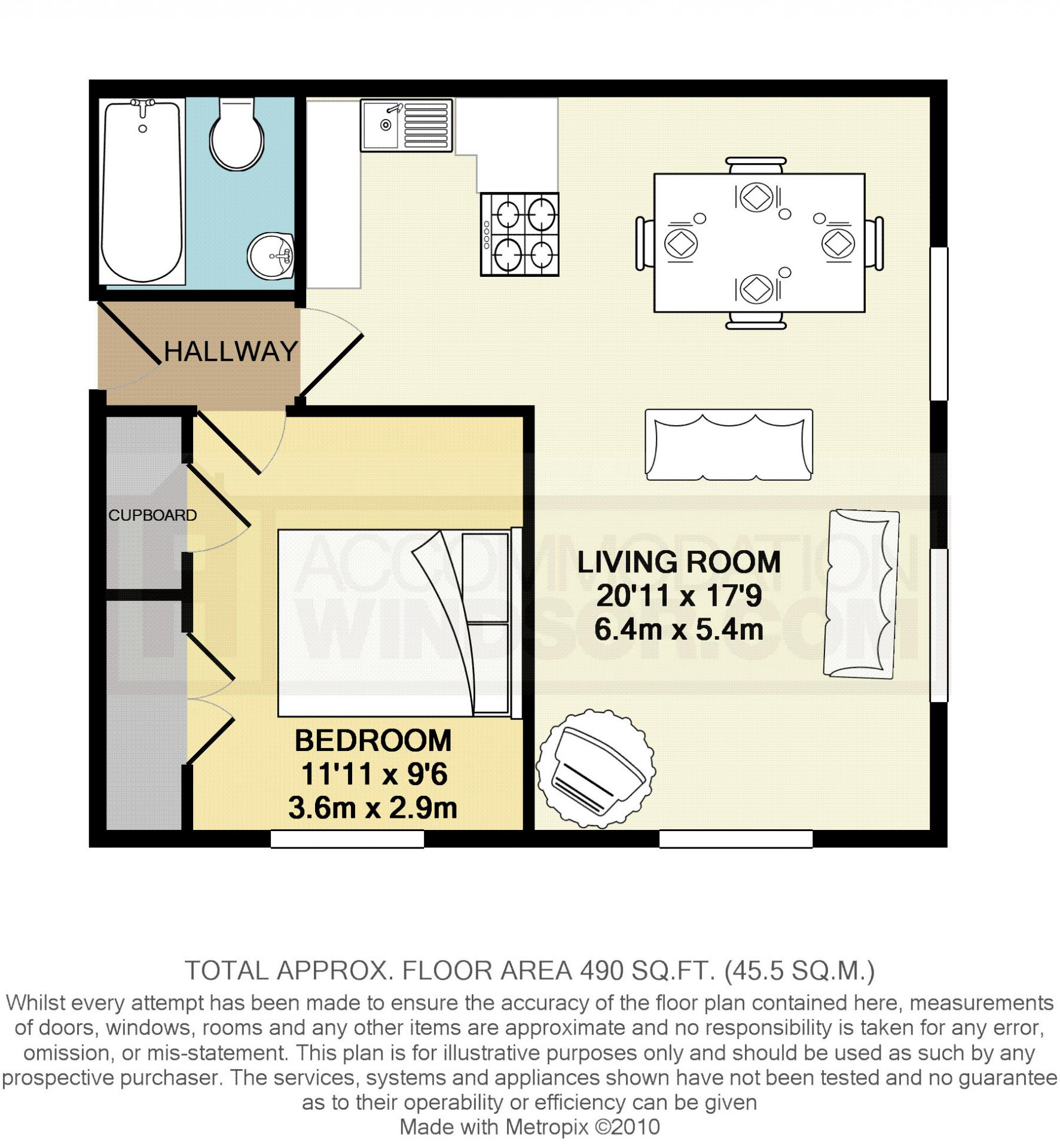 Floorplan 2 at Kingstable Street Apartments