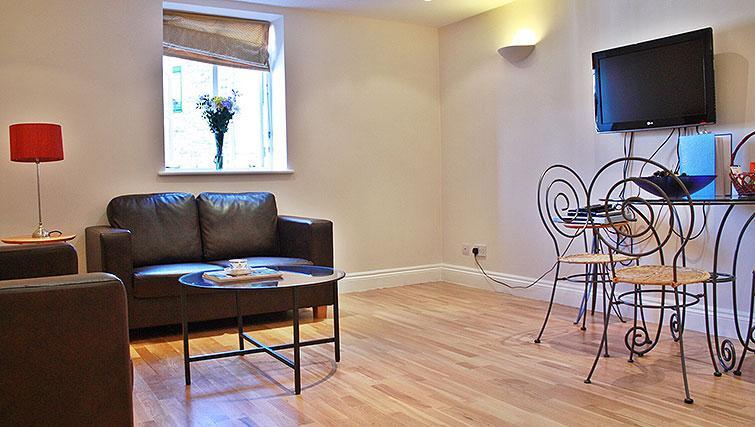 Sofa at Abbotts Chambers Apartments