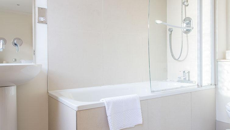 Bathroom at Astral House Apartments
