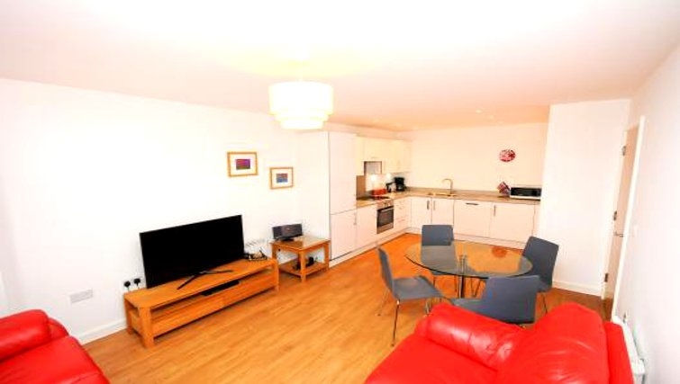 Living area at Empress Heights Apartment