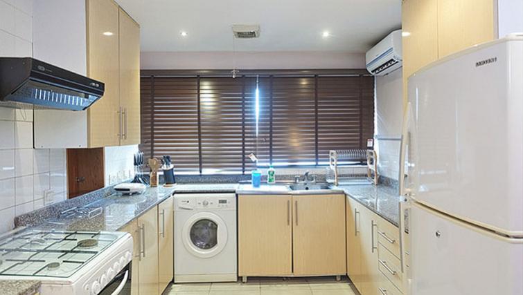 Kitchen at 34 Cameron Road Apartments