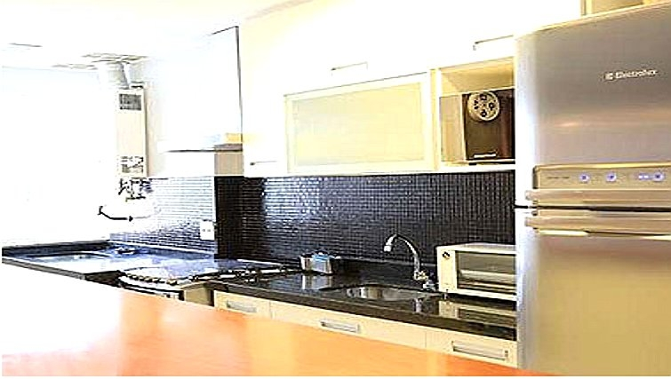 Well equipped kitchen in Casa Olimpica Apartments